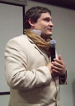 Александр Васильев на лекции