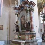 Фрагмент алтаря в стиле барокко, Литва
