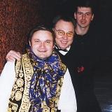 Александр Васильев, Слава Зайцев и его компаньон.