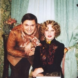 С Людмилой Гурченко, звездой кино.
