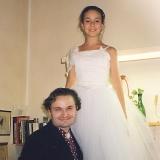 С принцессой Натальей Строцци, Флоренция, 1986 г,