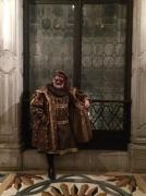 Александр Васильев на Венецианском карнавале