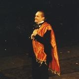 """На сцене национальной оперы Японии в Токио, после премьеры постановки балета """"Дама с камелиями"""", 1996г."""