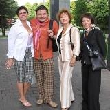 С участницами Летней школы в Вильнюсе, 2005 г.